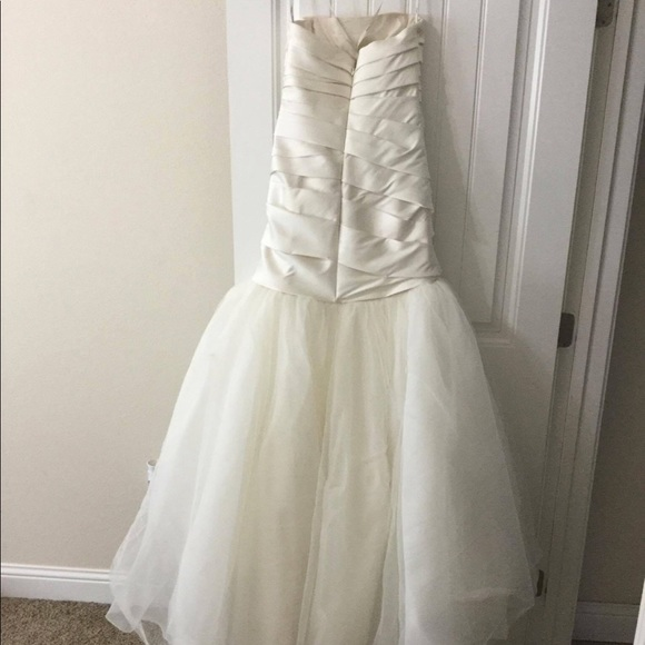 Vera Wang Dresses | Wedding Dress Bustier And Pettiskirt | Poshmark